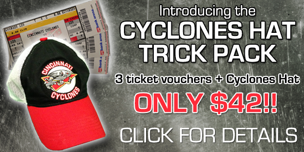 Introducing the Cyclones Hat Trick Pack!