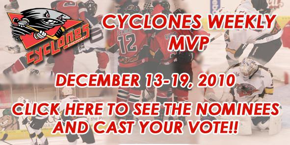 VOTE FOR THIS WEEK'S CYCLONES MVP!!!
