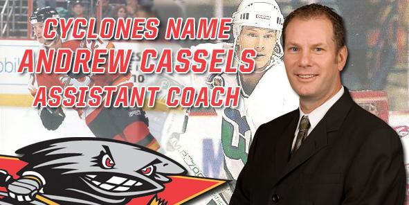 Cyclones Name Andrew Cassels Assistant Coach