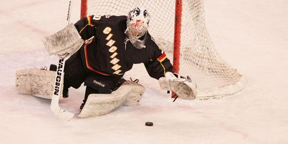 Michael Houser Named Reebok Hockey ECHL Goalie of the Week