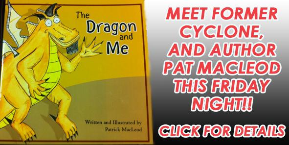 Meet Former Cyclone-turned-Author Pat MacLeod TONIGHT!!!