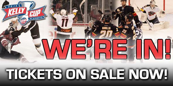2014 Kelly Cup Playoff Tickets ON SALE NOW!