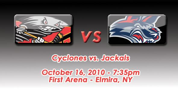 Cyclones vs. Jackals Game Preview - 10/16/10