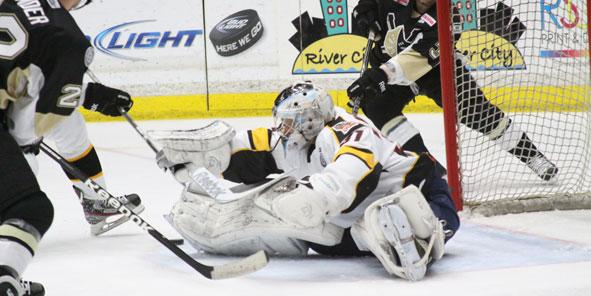 Don't Mess With the Zoltan, Cyclones Blank Nailers 2-0