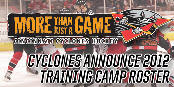 Cyclones Announce 2012 Training Camp Roster