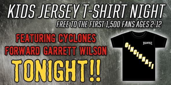 Garrett Wilson Kids Jersey T-Shirt TONIGHT