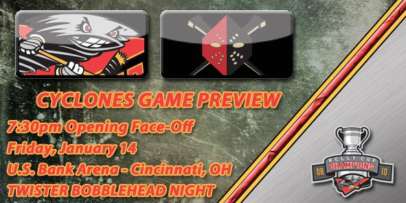Cyclones Game Preview: Cincinnati vs. Wheeling - January 14, 2011