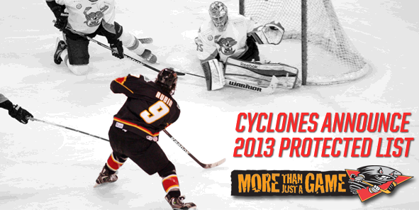Cyclones Announce 2013 Protected List