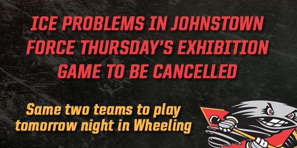 Tonight's Cyclones Preseason Game Cancelled