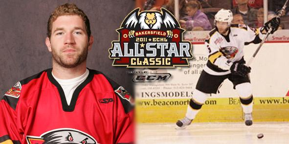 Brian O'Hanley Named to 2011 ECHL All-Star Classic