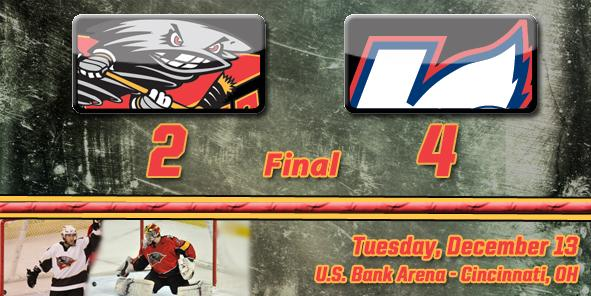 Kalamazoo's Third Period Comeback Dooms Cyclones, 4-2