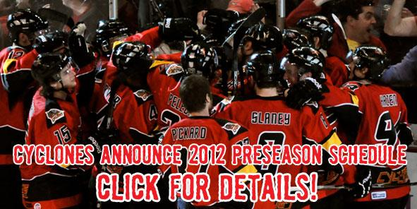 Cyclones Announce 2012 Preseason Schedule