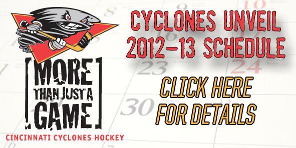 Cyclones Unveil 2012-13 Schedule
