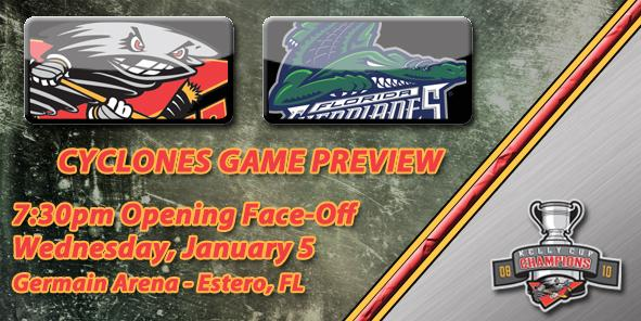 Cyclones Game Preview: Cincinnati vs. Florida - January 5, 2011