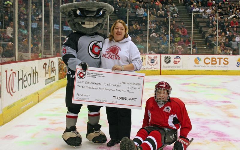 Cincinnati Cyclones Fundraising