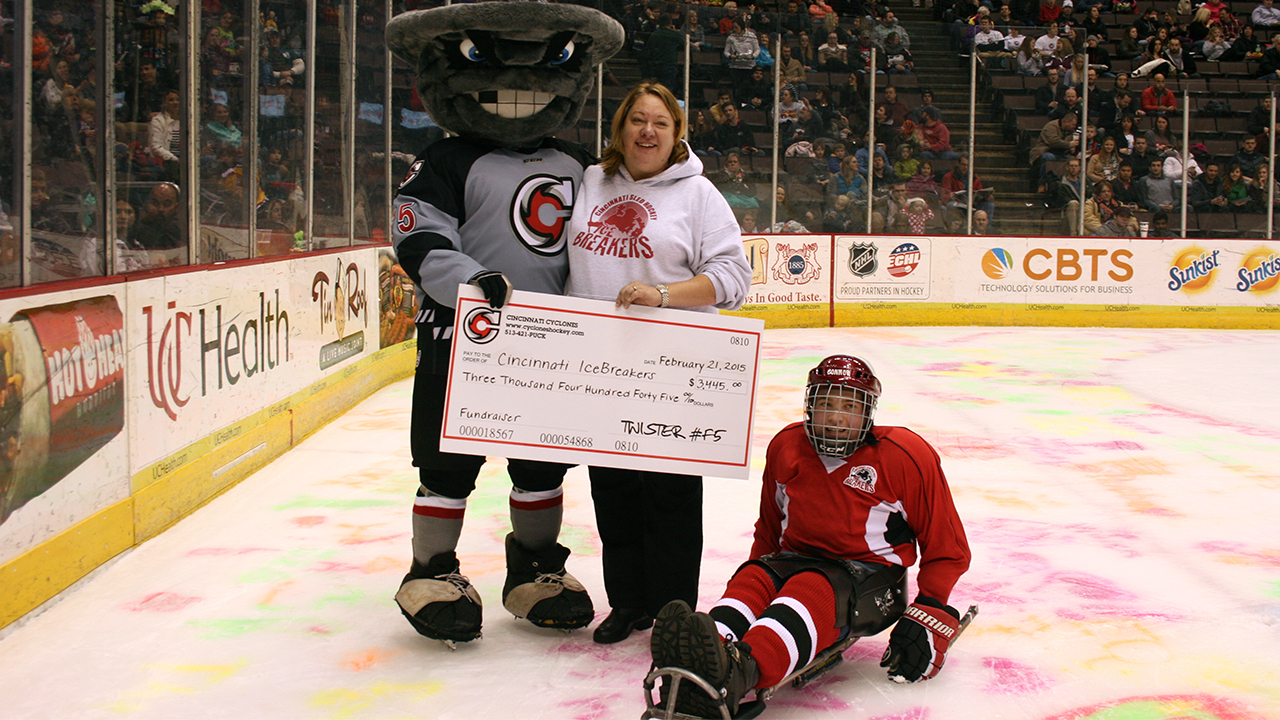 Cincinnati Cyclones Donation Requests