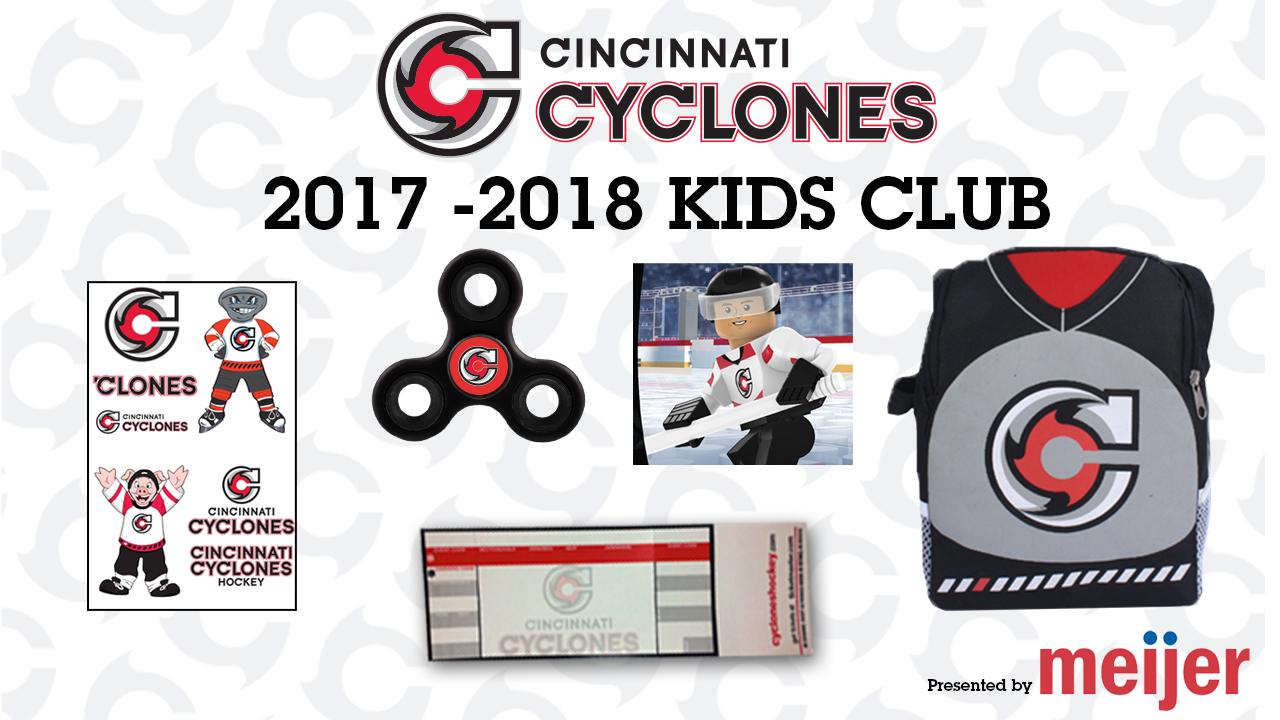 Cincinnati Cyclones Meijer Kids Club