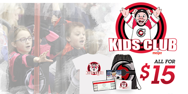 Cincinnati Cyclones Meijer Kids Club