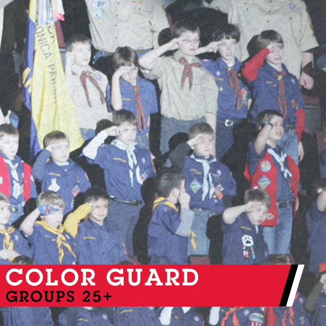 Perform The Color Guard