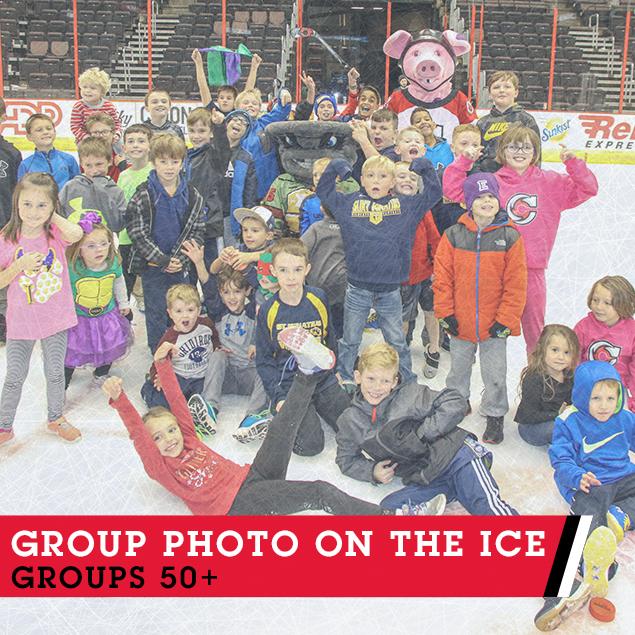 Group Photo On Ice