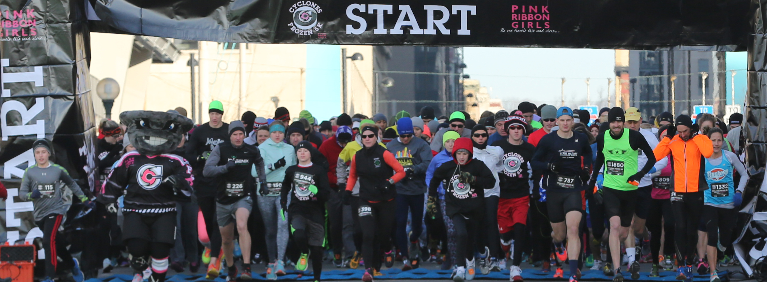 Cincinnati Cyclones Frozen 5k Run Walk