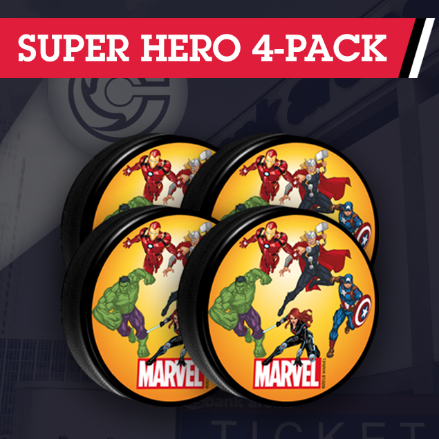 Super Hero 4-Pack
