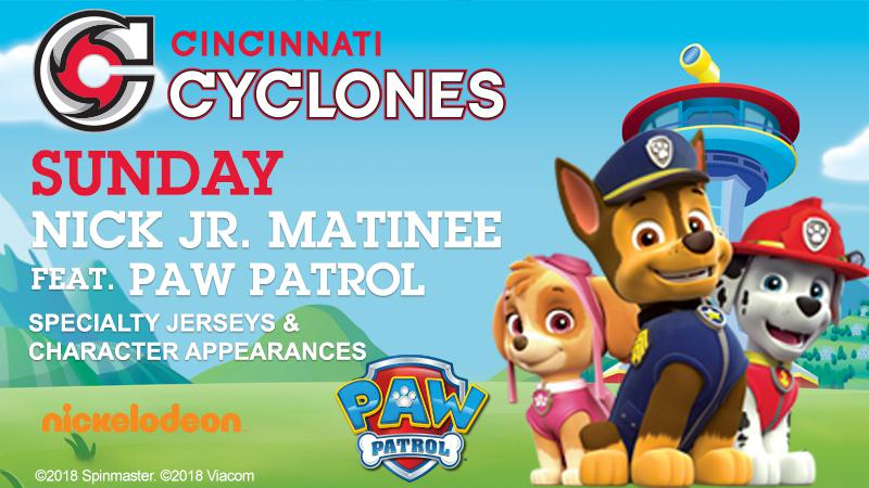 U.S. Bank Arena - Nick Jr Matinee featuring Paw Patrol Appearance
