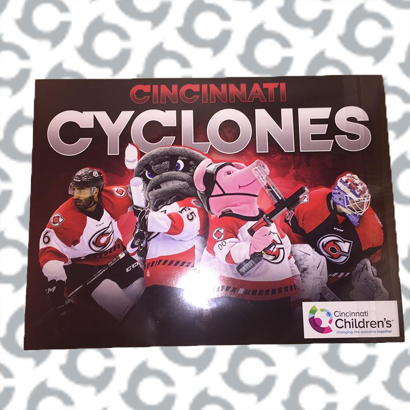 graphic about Cincinnati Reds Printable Schedule known as Agenda - Cincinnati Cyclones